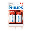 (Battery Philips(LR20P2B